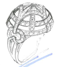 Drawn jewelry diamond ring Ring so FInal engagement Eternity