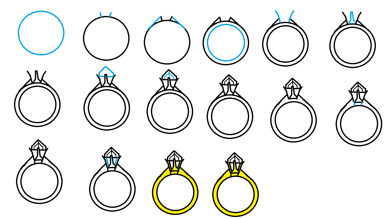 Drawn jewelry diamond ring Draw Find com/pictures1  Image