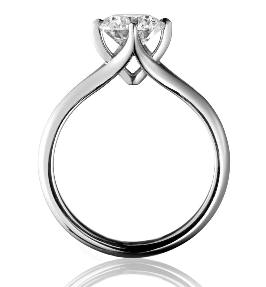 Drawn jewelry engagement ring Diamond ring Coronet Pure Simon