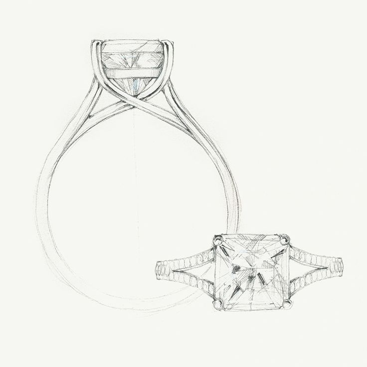 Drawn jewelry engagement ring On ideas sketch sketch the