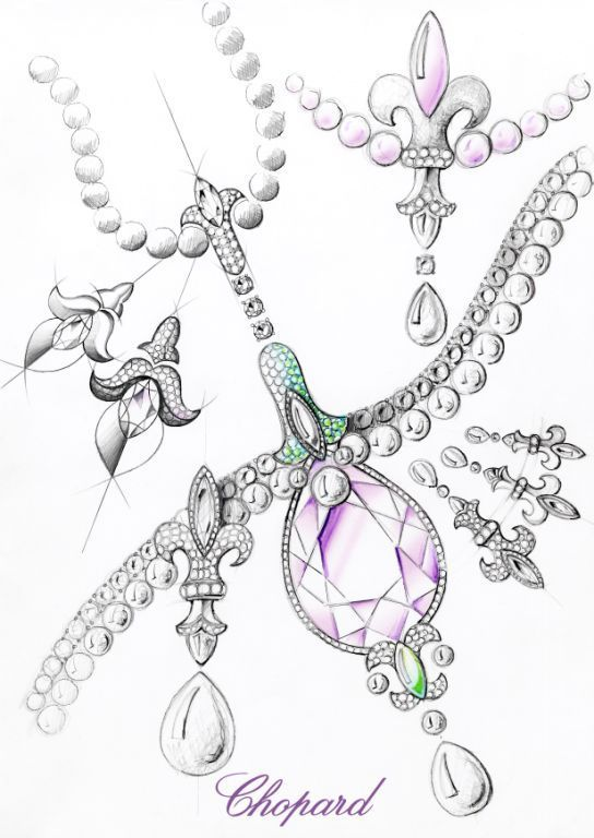 Drawn necklace black and red Jewellery best sketches on images