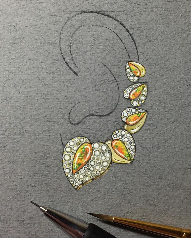 Drawn jewelry jewellery Drawing Jewellery SketchesJewelry on design