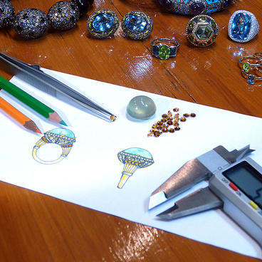 Drawn jewelry jewelry design Designed Jewellery Our Call 538