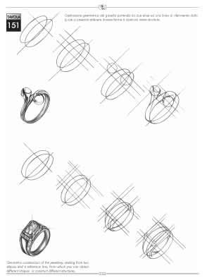 Drawn jewelry technical drawing To Jewelry Best Image ideas