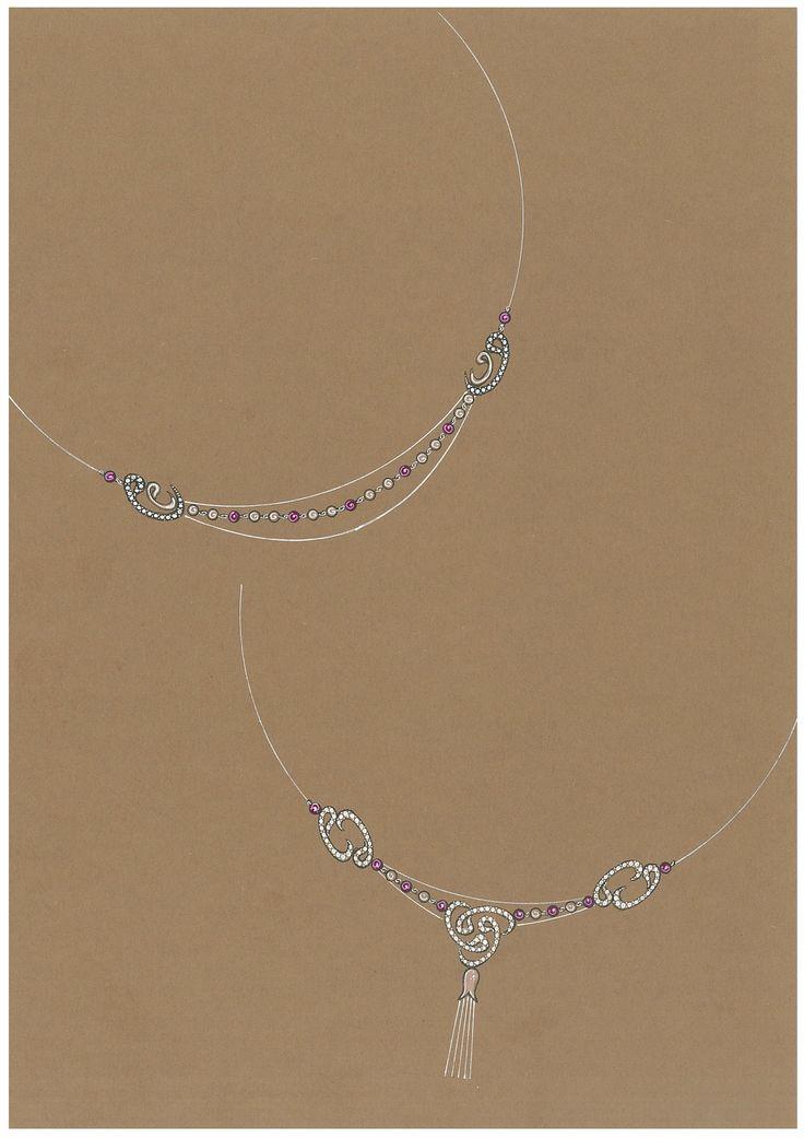 Drawn jewelry technical drawing Özlem Pinterest best 65 By