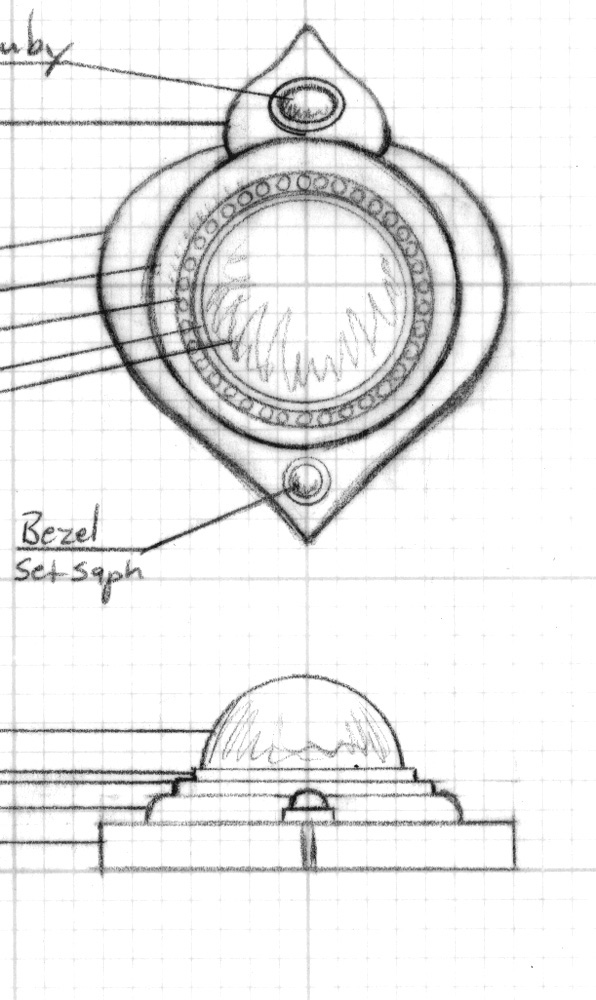 Drawn jewelry technical drawing You on Jewelry hope Sketches