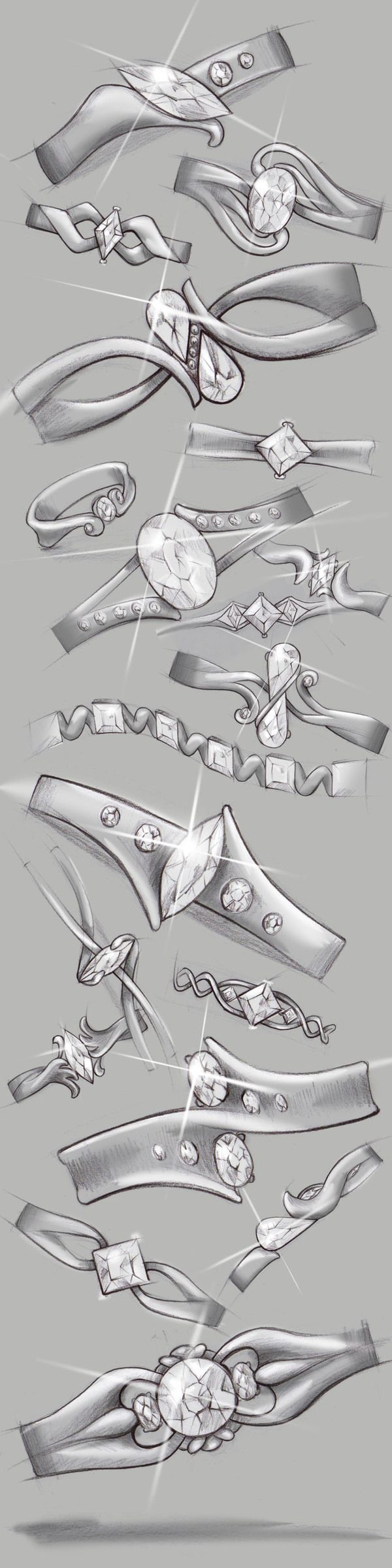 Drawn jewelry technical drawing Sister :) artsy She's ideas