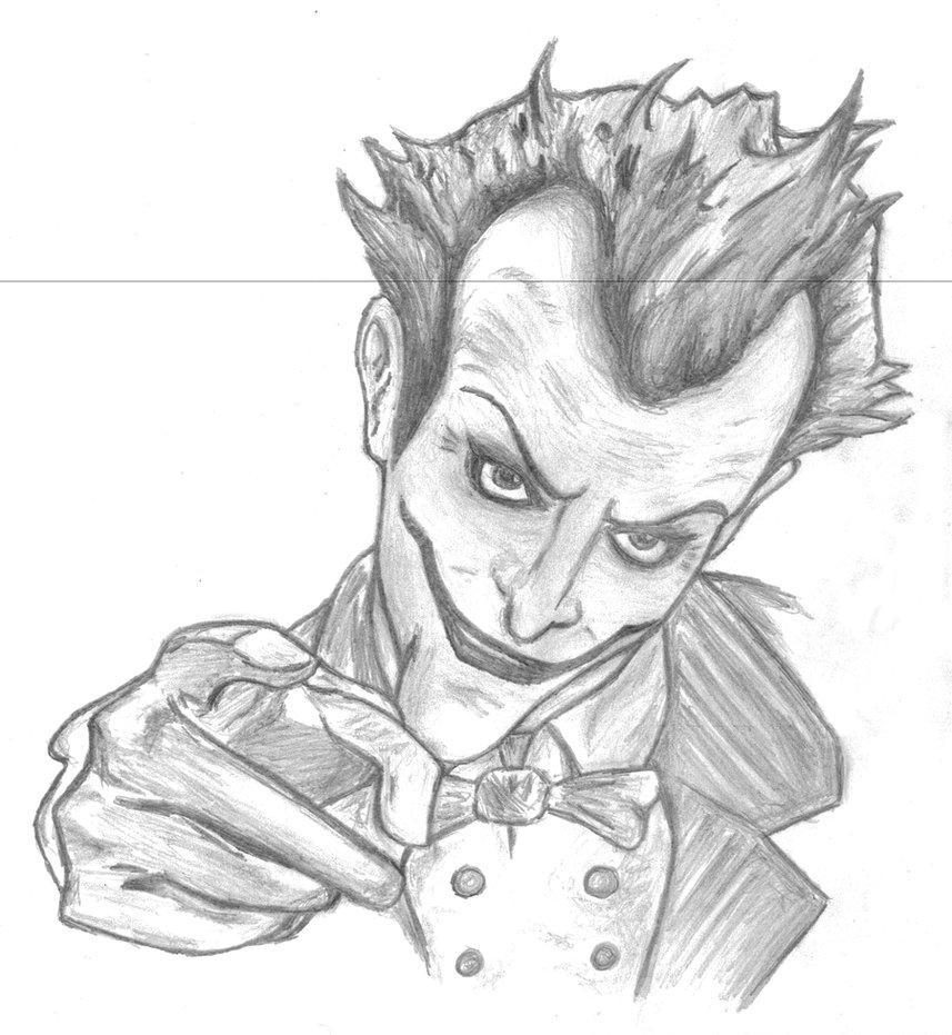 Drawn joker Arkham on DeviantArt Arkham Asylum