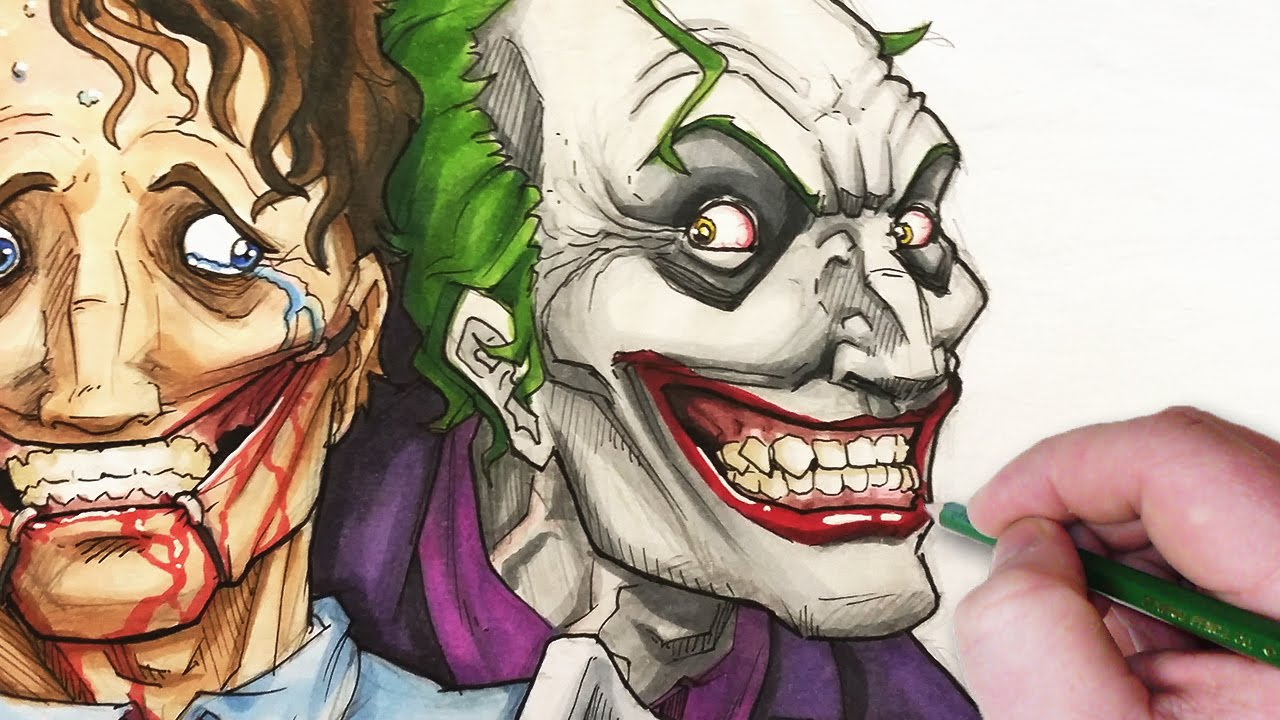 Drawn joker #12