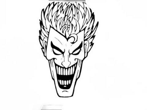 Drawn joker Al Como Dibujar How to