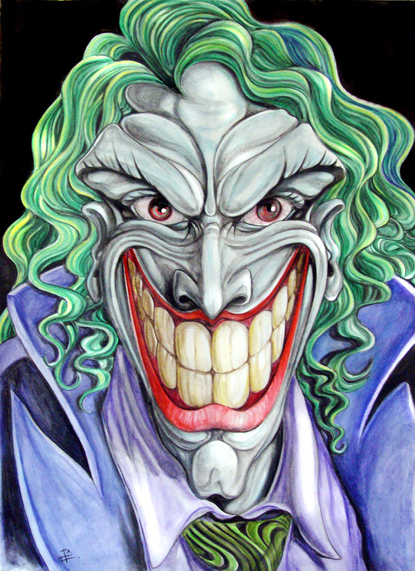 Drawn joker #11
