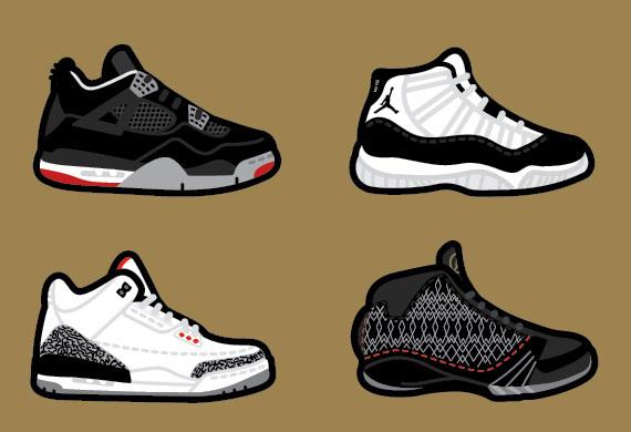 Drawn sneakers jordan 3 Robb SneakerNews Harsky  com
