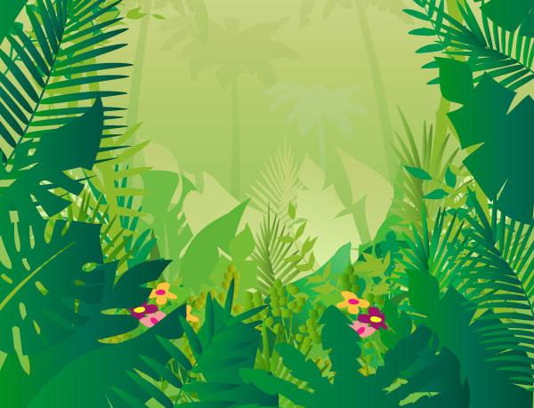 Drawn jungle 5 kid clipart Pinterest Jungle