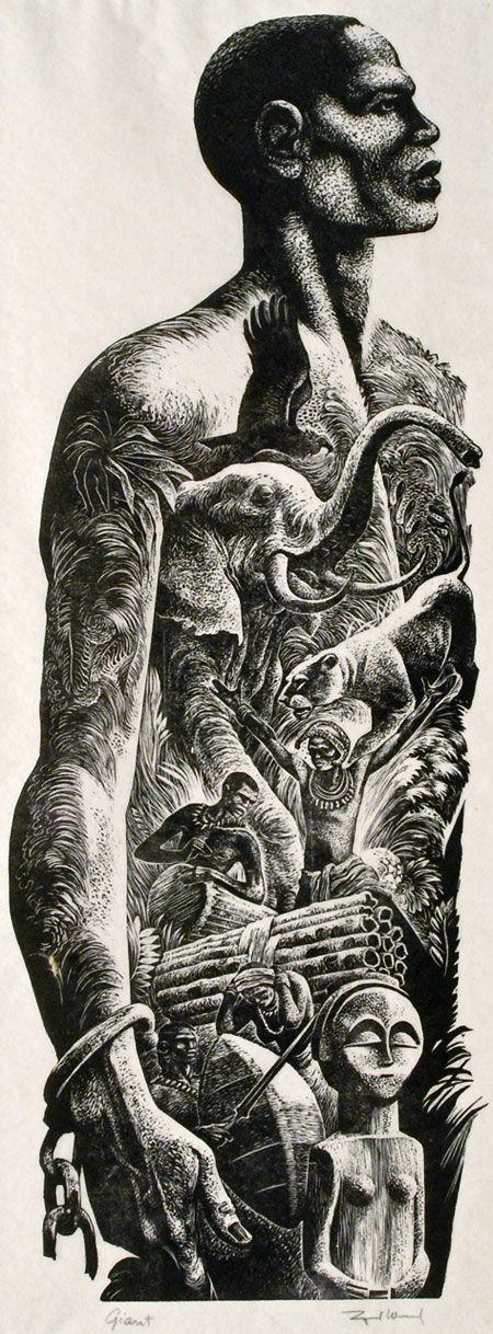 Drawn jungle africa (1905–1985) Jungle
