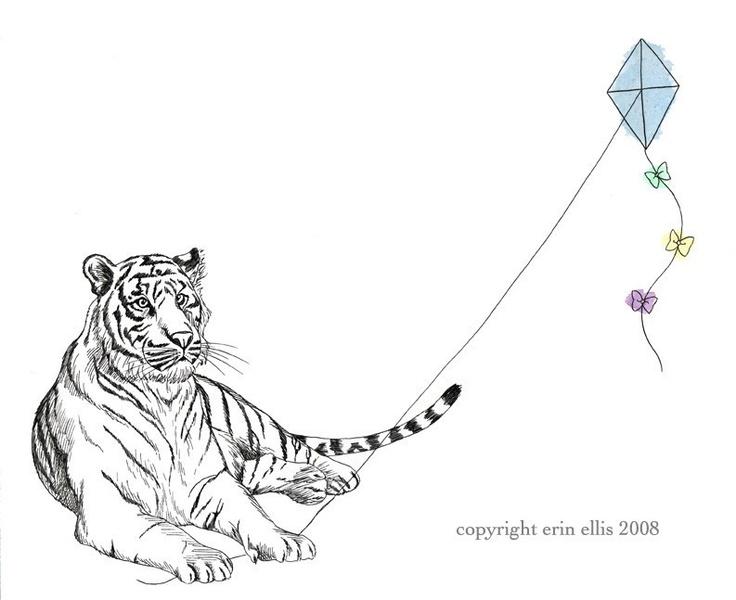 Drawn jungle border Tiger 52 AnimalsAwesome IllustrationJungle Jungle