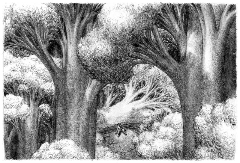 Drawn jungle deep 2010 September to Click Drawn: