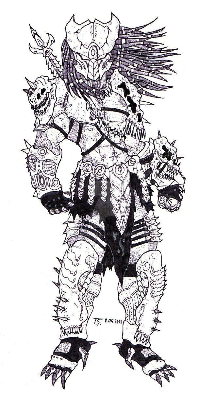 Drawn predator cartoon Seavus Bender18 Seavus Bender18 predator