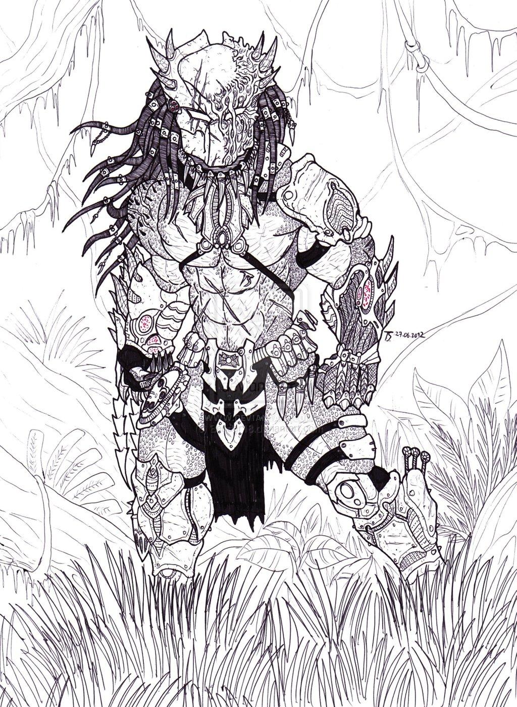 Drawn predator wolf Pic/pic ever  Predator of