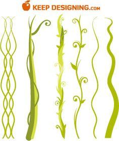 Drawn plant jungle vine Vines a Draw Jungle Vine
