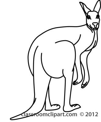 Black clipart kangaroo #17 #5 Clipart 124 Fans