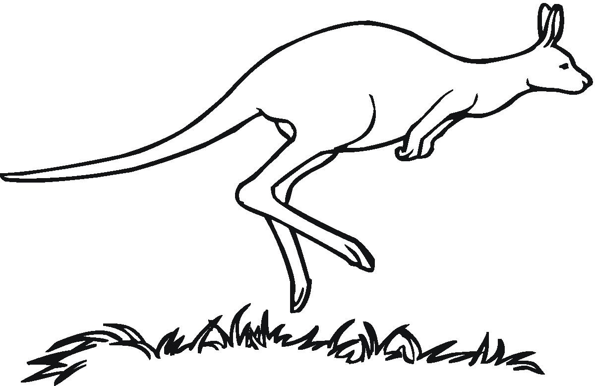 Black clipart kangaroo #18 #1 Clipart 124 Fans