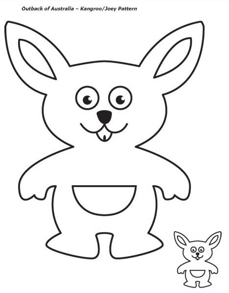Drawn kangaroo joey kangaroo Chapter TSLAC kangaroo Preschool Programs