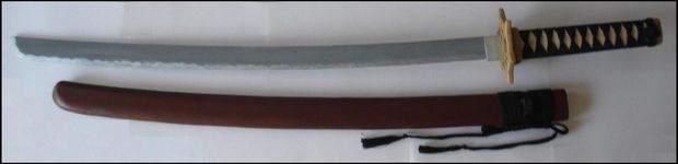 Drawn katana homemade #2