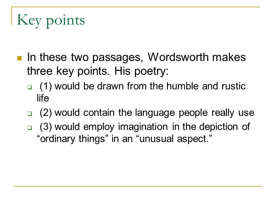 Drawn key Key Objectives: in English 12