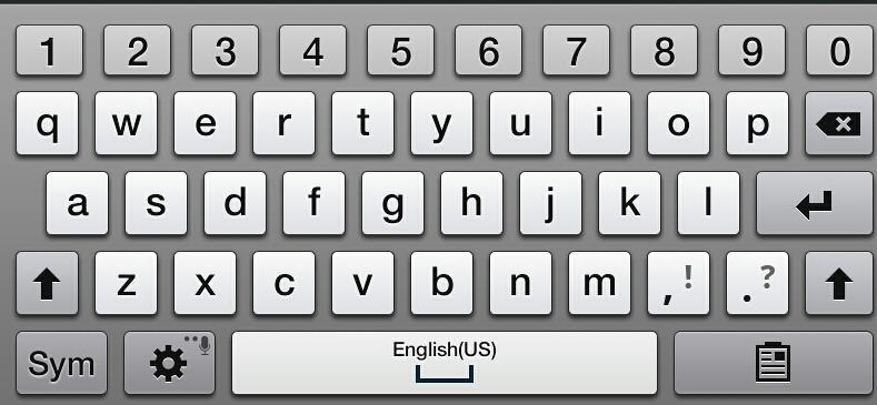 Drawn keyboard #9