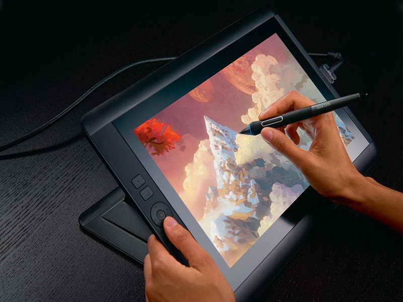 Drawn keyboard digital computer Computer Drawing Tablet  wacomm