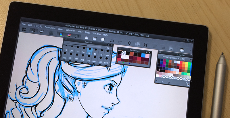 Drawn keyboard digital computer Digital art free Clip allows