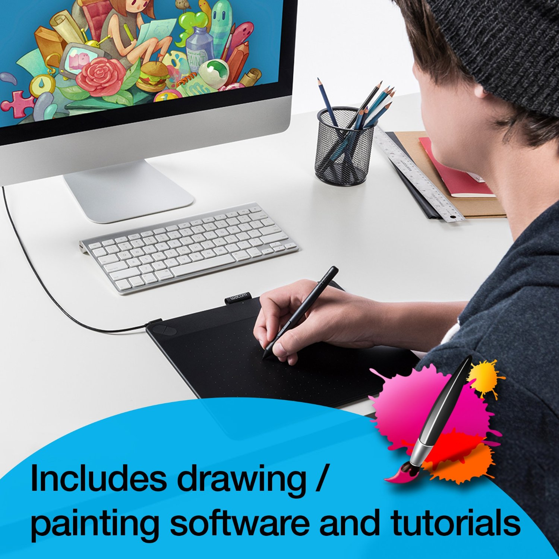 Drawn keyboard digital computer Graphics Tablet Amazon Wacom Small: