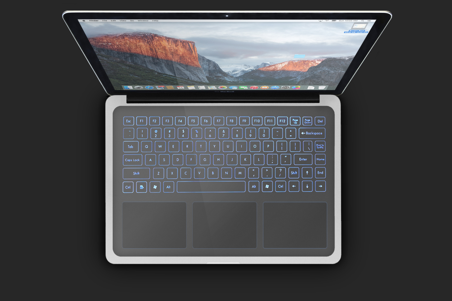 Drawn keyboard imac All apple haptic patents v2