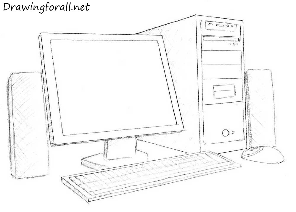 Drawn keyboard outline To DrawingForAll How how a