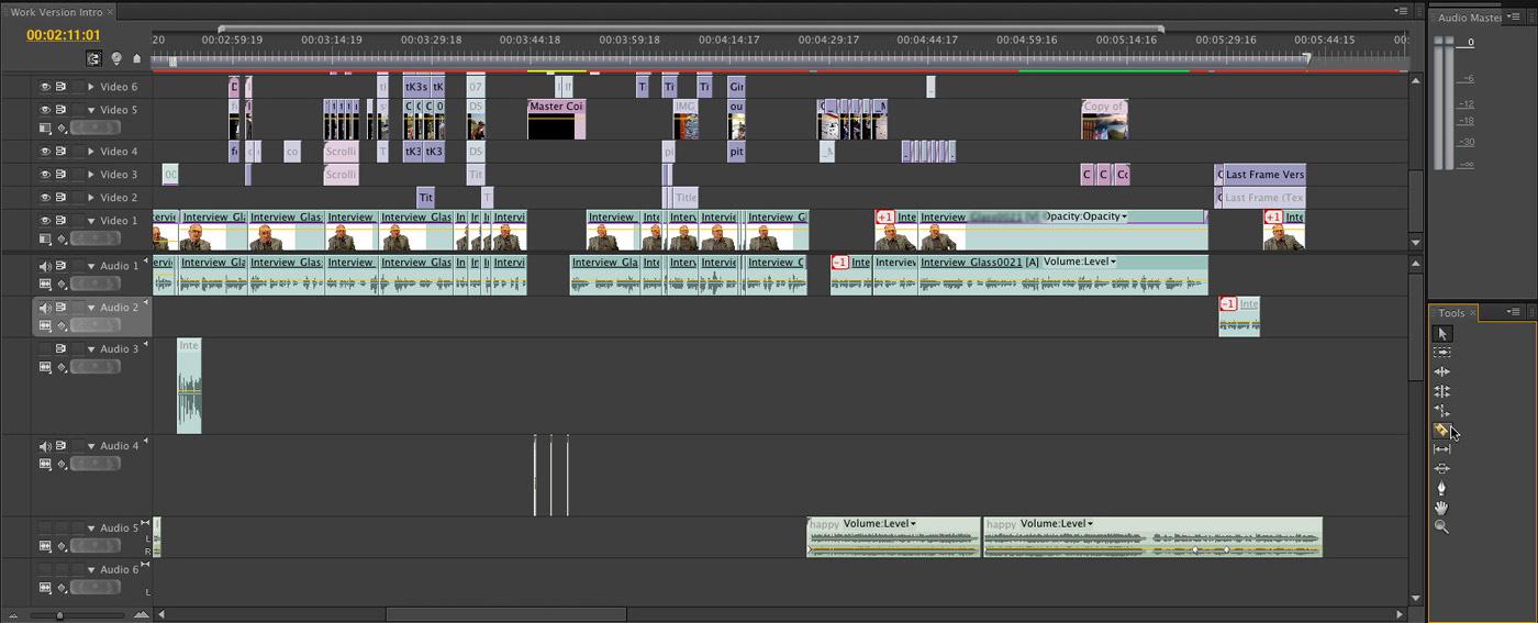 Drawn keyboard premiere pro X Final A Cutter Timeline: