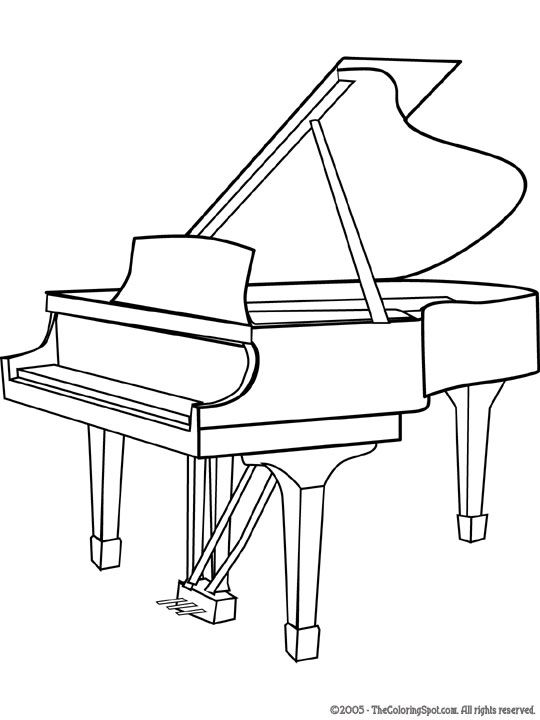 Drawn piano black and white Pinterest on Pages best Coloring