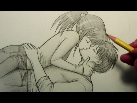Drawn kisses hot kiss How People [Pose] to [Pose]