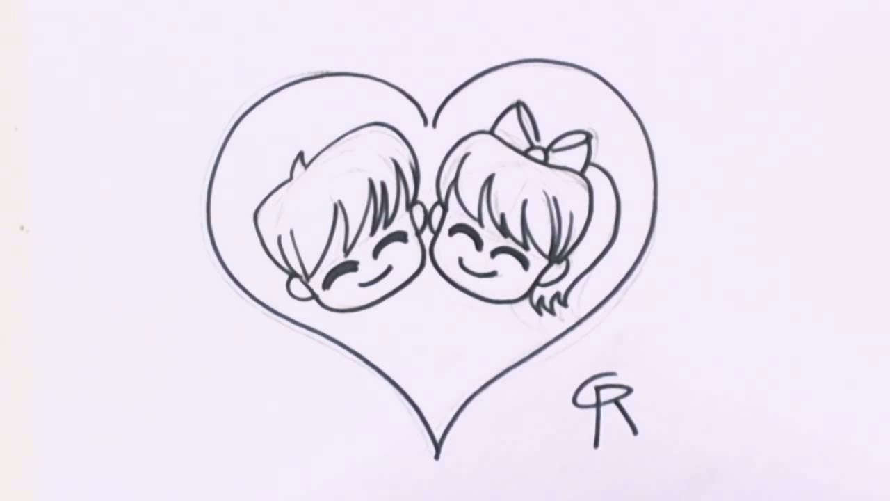 Drawn hearts cute How Love How in in