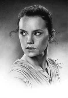 Drawn portrait hype Star from The Rey Daisy
