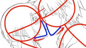 Drawn kisses anime draw Sketch Anime Step  Sketch
