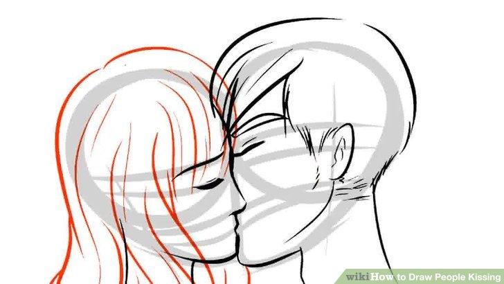 Drawn kiss cartoon People Draw People titled How