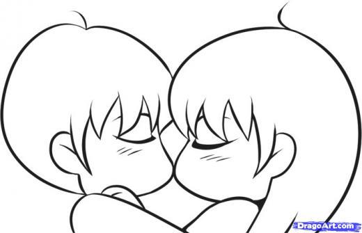 Drawn kisses chibi Draw Chibis Learn to Chibi