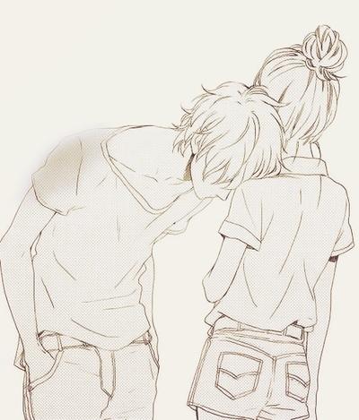 Drawn kisses cute Cute Lover Kissing Kiss /