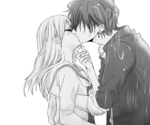 Drawn kisses cute anime On  156 images It