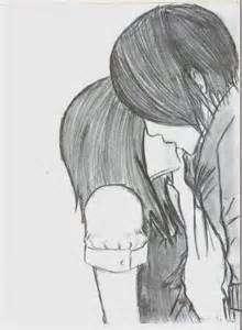 Drawn kisses cute couple Couple Love couple Quotes Kissing