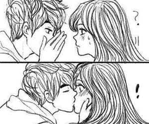 Drawn kisses cute relationship See about on 35 more