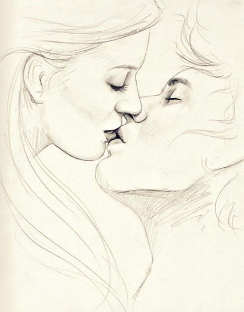 Drawn hug two person Kissing Quotes People Quotes Pics