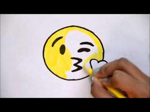 Drawn kisses emoji The Emoji Draw Kissing For