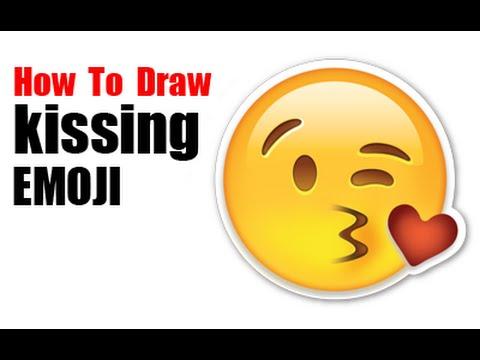 Drawn kisses emoji Emojis a Draw Blowing Kiss