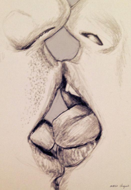 Drawn kisses french kiss Lips Moyuk Of by Kissing